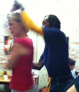 Zydeco dancing