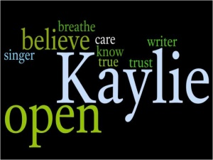 Wordle made by Kaylie