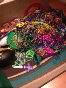 Mardi Gras loot