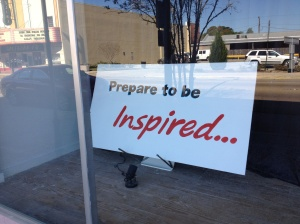 Prepare to be Inspired...
