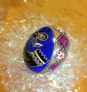 Pysanky egg by Nicole Holcombe
