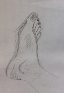 foot sketch 2