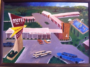 Motel Beau Sejour finished by Paul Schexnayder.