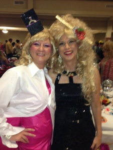 2012-13 Head Diva, Susan and me, 2013-14 Head Diva.