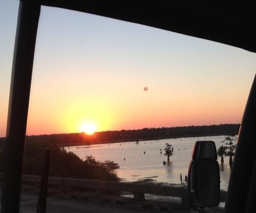 atchafalaya sunrise