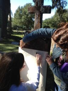 Candice rubbing