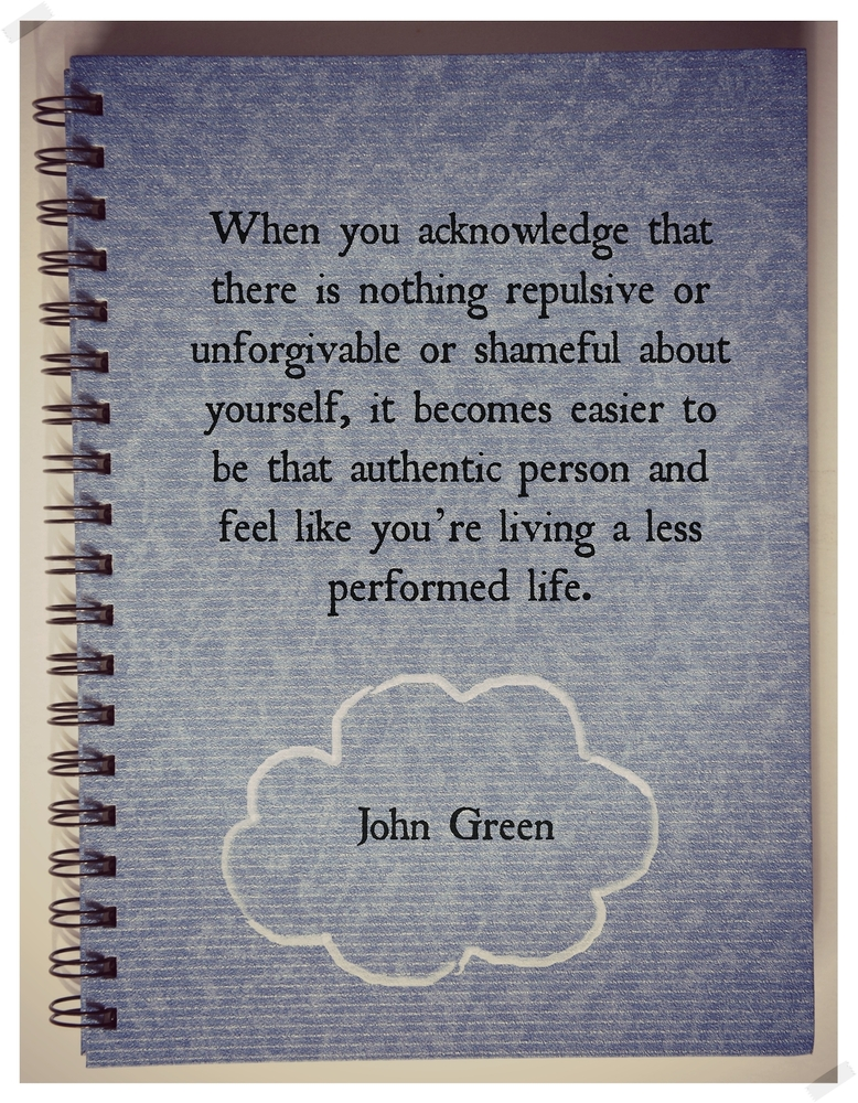 Quotes About Love John Green : John Green Reflections on the Teche
