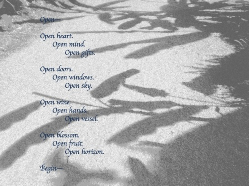 Open by Margaret Simon, all rights reserved
