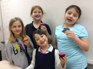 Silly cupcake lipstick