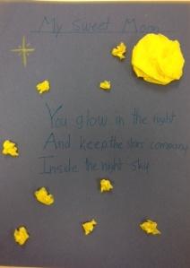 Emily's haiku to the moon