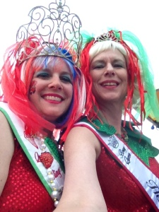 A selfie with our Boss Queen Jerre at the parade.
