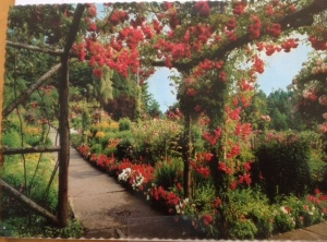 Butchart Gardens vintage postcard, Victoria, B.C., Canada. Photo by John L. Barnard
