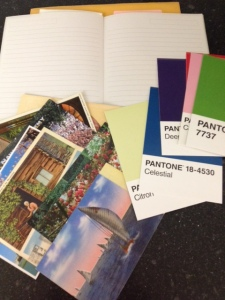 colors and postcards