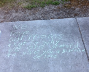 mothers chalk poetry
