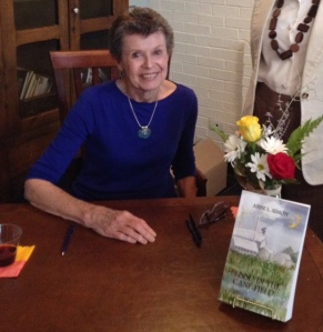 Anne Simon signs copies of Blood in the Cane Field