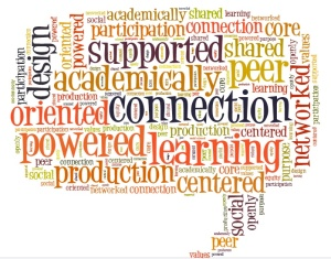 connected learning tagxedo