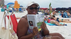 Judge Lori Landry says Blood in the Cane Field is a great beach read!