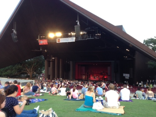 Miller Outdoor Theatre in Houston's Herman Park
