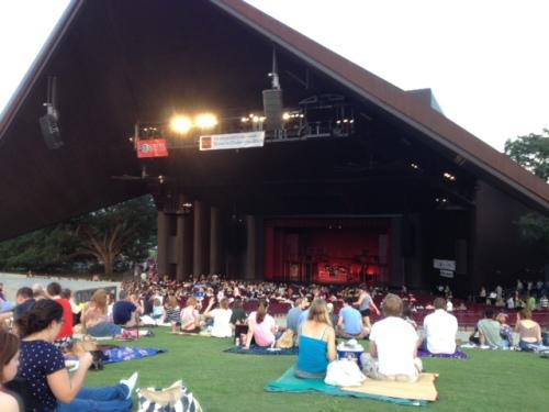 Miller Outdoor Theatre in Houston's Herman Park