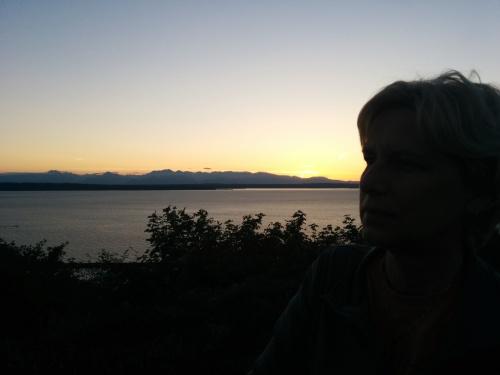 sunset profile