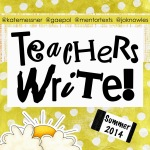 Kate Messner leads teacher writers in a writing camp this month.