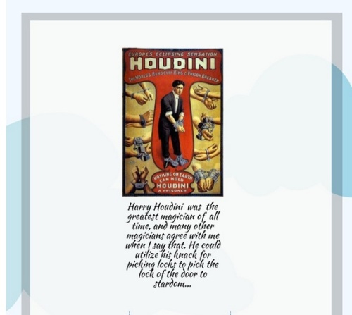 Houdini Piktochart