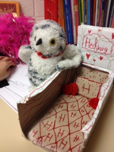 Hedwig's bed
