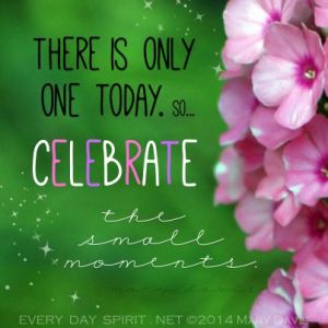 celebrate small moments