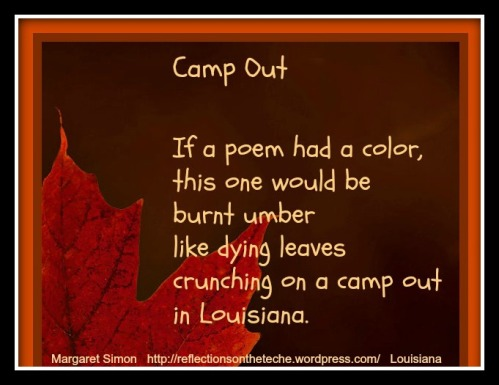 My fall poem with an image chosen by Carol.