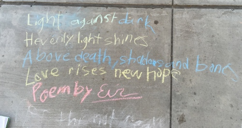 A haiku by Erin, 3rd grade