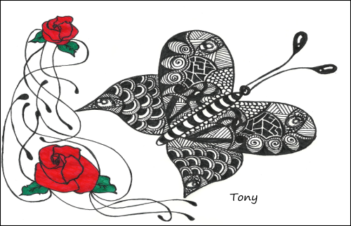 http://smileyface001.deviantart.com/art/Butterfly-Zentangle-422576824
