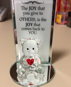 A Valentine's Day gift from a student.