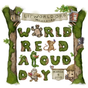 World Read Aloud Day was March 4, 2015. Sponsored by LitWorld.