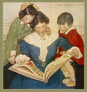 "Jessie Wilcox Smith, Flickr, 1915 ""The New Book"""