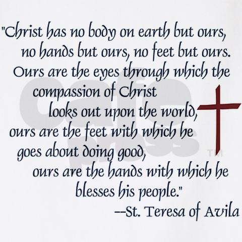 st_teresa_of_avila_quote_bbq_apron