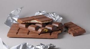 Braune Schokolade