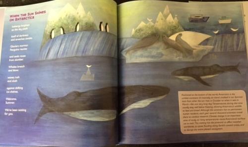Antarctica page spread