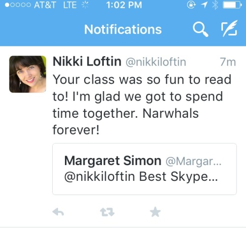 Nikki Loftin Tweet