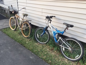 Bikes at Solomon House