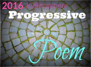 Robyn is adding a line to the Progressive Poem today. Click the image.