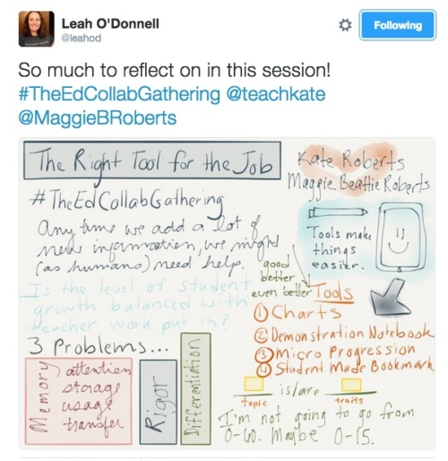 Notes from Leah O'Donnell