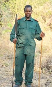 Maasai guard