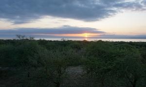 Lake Burunge sunset