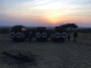 Sunrise on the Serengeti