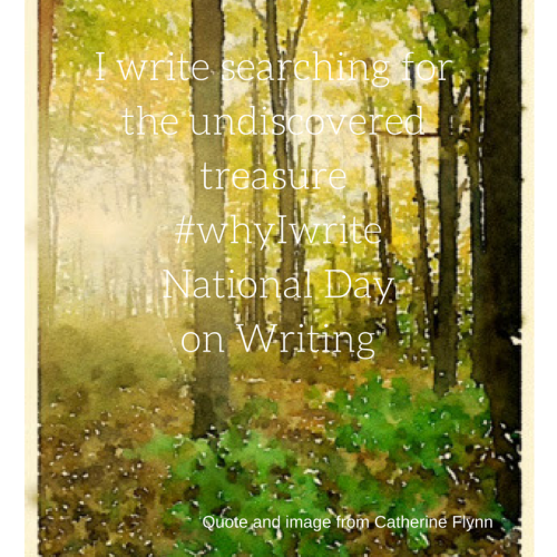 Image and quote by Catherine Flynn