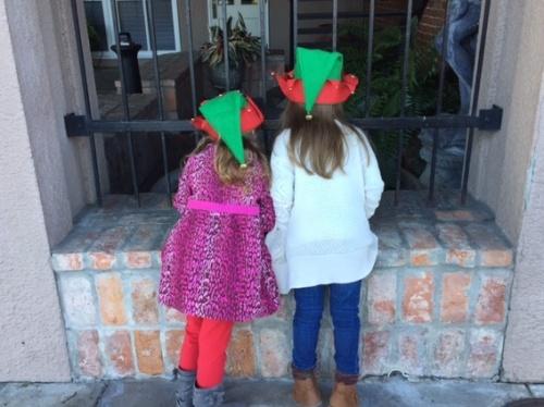 Looking for goldfish Main Street elves explore magic Do good for good's sake #haikuforhealing