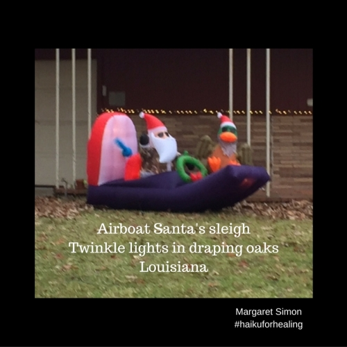 santa-in-airboatdisneyland-decorationslouisiana
