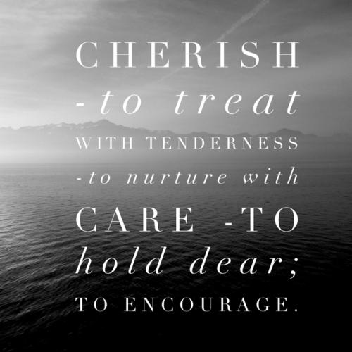 cherish-definition
