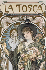 La_Tosca_poster_by_Mucha_-_detail
